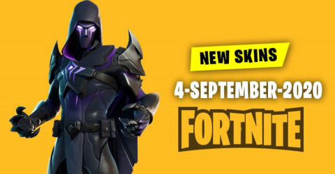 Fortnite Skins Today's Item Shop 4 September 2020