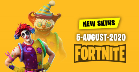 Fortnite Skins Today's Item Shop 5 August 2020