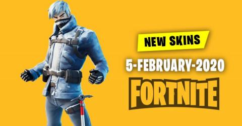 Fortnite Skins Today's Item Shop 5 February 2020