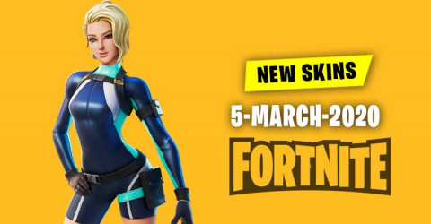 Fortnite Skins Today's Item Shop 5 March 2020