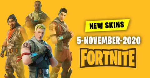 Fortnite Skins Today's Item Shop 5 November 2020