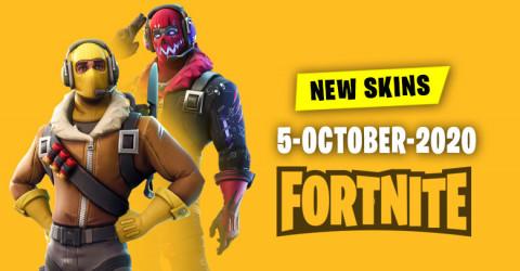 Fortnite Skins Today's Item Shop 5 October 2020