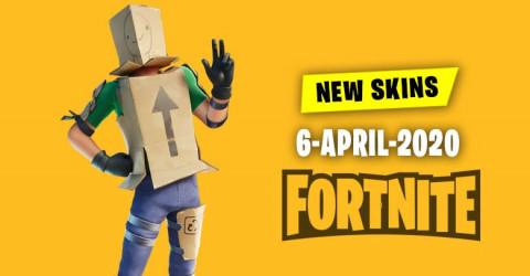 Fortnite Skins Today's Item Shop 6 April 2020