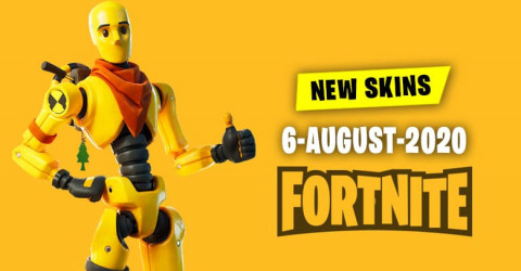 Fortnite Skins Today's Item Shop 6 August 2020