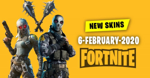 Fortnite Skins Today's Item Shop 6 February 2020