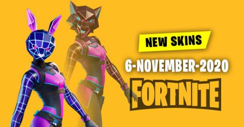 Fortnite Skins Today's Item Shop 6 November 2020