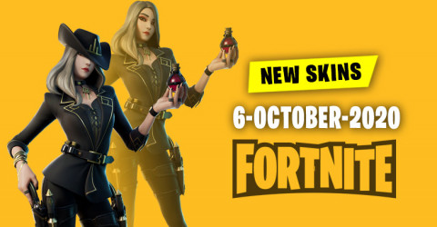 Fortnite Skins Today's Item Shop 6 October 2020