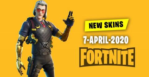 Fortnite Skins Today's Item Shop 7 April 2020