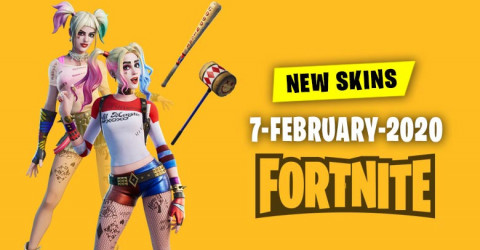 Fortnite Skins Today's Item Shop 7 February 2020