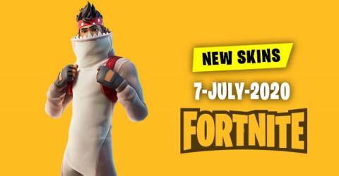 Fortnite Skins Today's Item Shop 7 July 2020