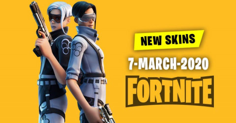 Fortnite Skins Today's Item Shop 7 March 2020