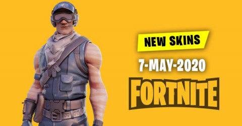 Fortnite Skins Today's Item Shop 7 May 2020