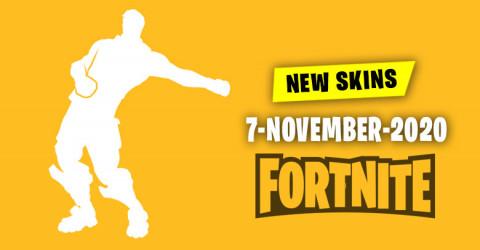 Fortnite Skins Today's Item Shop 7 November 2020