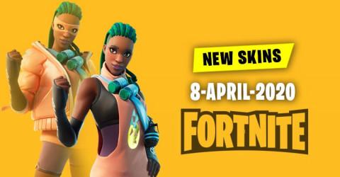 Fortnite Skins Today's Item Shop 8 April 2020
