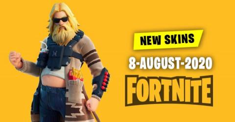 Fortnite Skins Today's Item Shop 8 August 2020