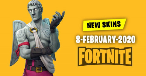 Fortnite Skins Today's Item Shop 8 February 2020