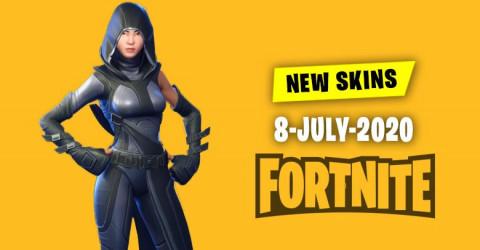 Fortnite Skins Today's Item Shop 8 July 2020