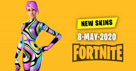 Fortnite Skins Today's Item Shop 8 May 2020