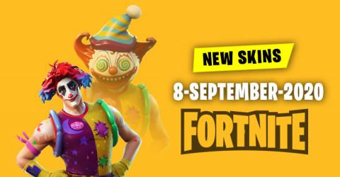 Fortnite Skins Today's Item Shop 8 September 2020