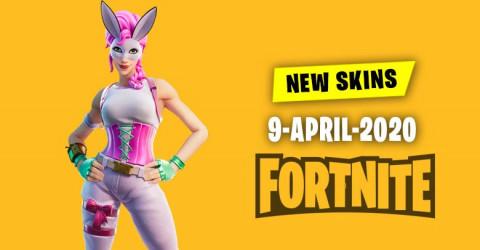 Fortnite Skins Today's Item Shop 9 April 2020