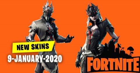 Fortnite Skins Today's Item Shop 9 January 2020