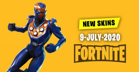 Fortnite Skins Today's Item Shop 9 July 2020