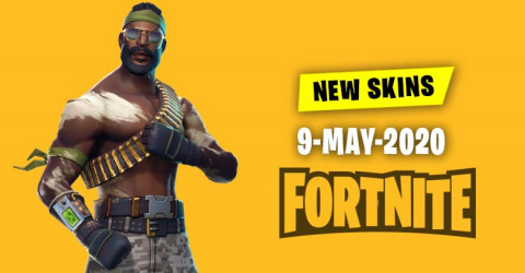 Fortnite Skins Today's Item Shop 9 May 2020