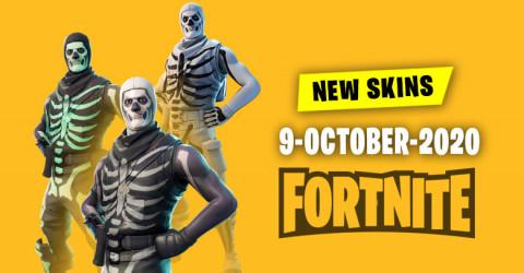 Fortnite Skins Today's Item Shop 9 October 2020