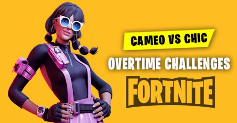 Fortnite Overtime Challenges | Cameo VS Chic