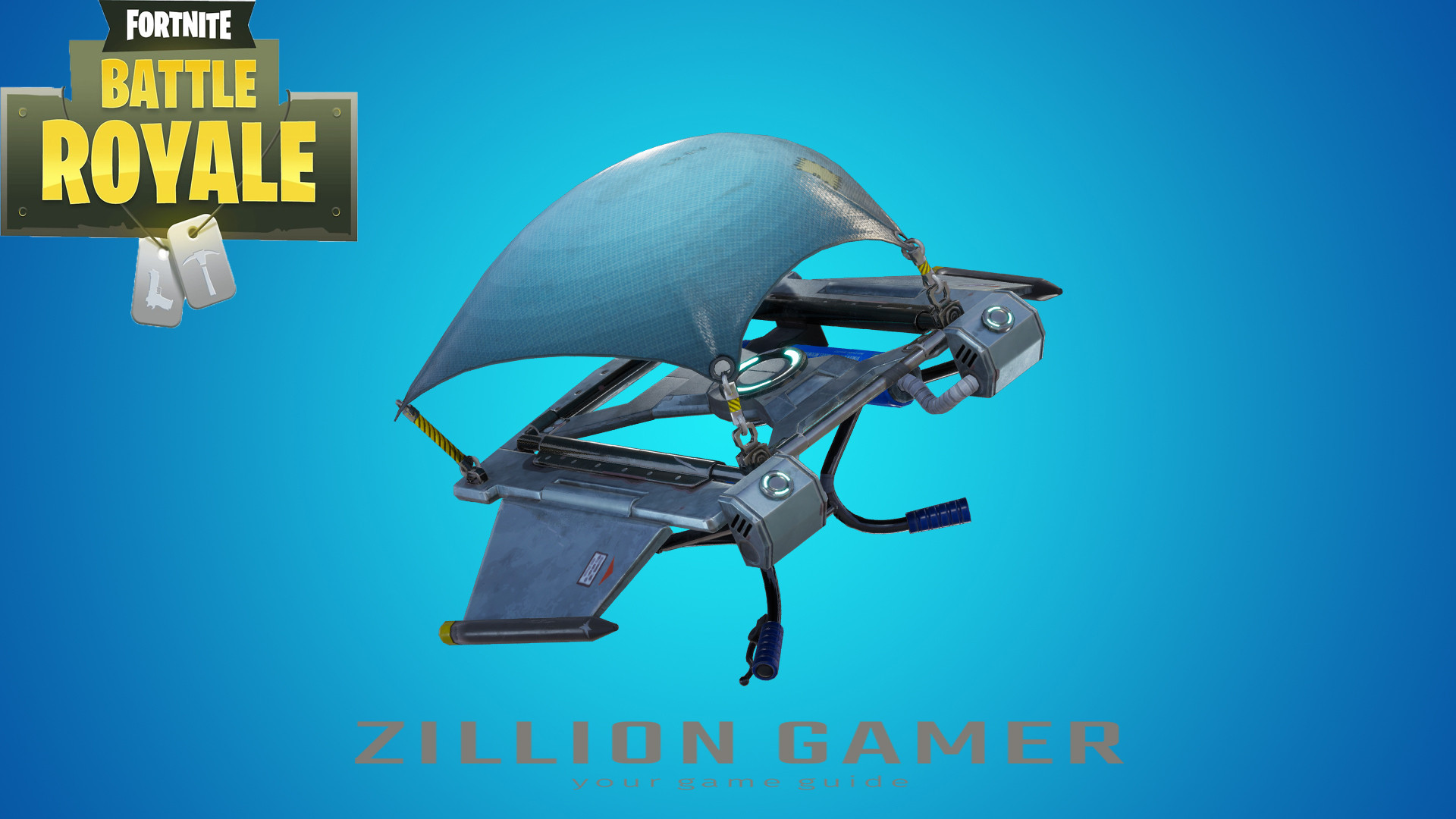 Glider Redeploy Item | Fortnite - zilliongamer