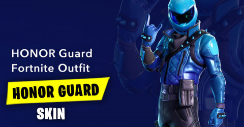 Honor Guard Fortnite Outfit