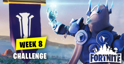 Fortnite Season 7 Week 8 Challenges