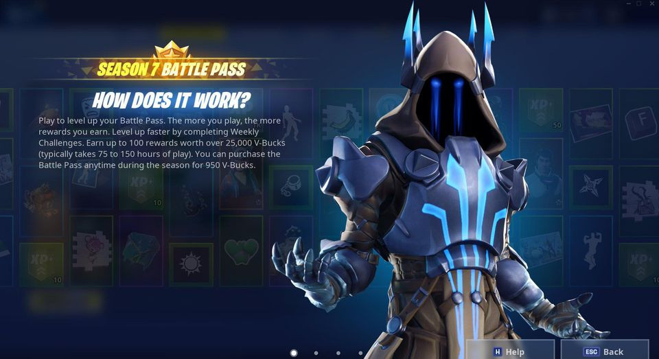 Tier 100 Battle Pass Skin Season 7 | Fortnite - zilliongamer