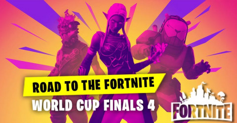 Road To The Fortnite World Cup Finals 4