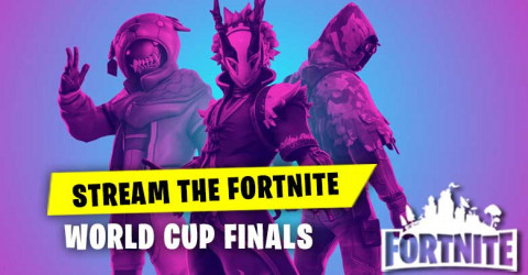 Stream The Fortnite World Cup Finals