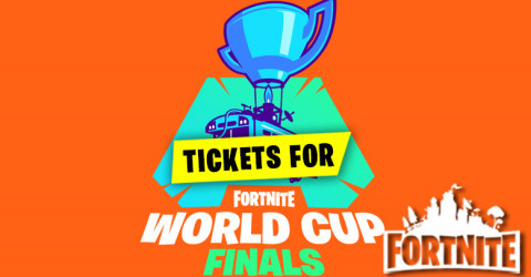 Tickets For The Fortnite World Cup Finals