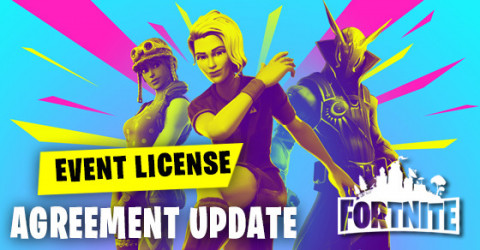 Event License Agreement Update