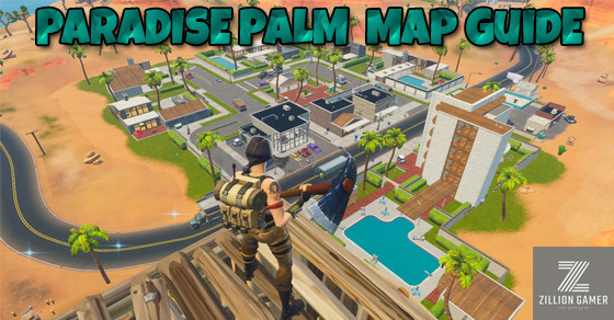 Paradise Palm top view | Fortnite - zilliongamer your game guide