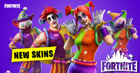 New Skins and Cosmetics