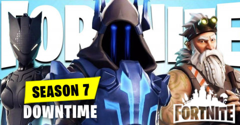 Fortnite Season 7 DownTime