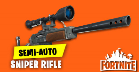 Semi Auto Sniper Rifle