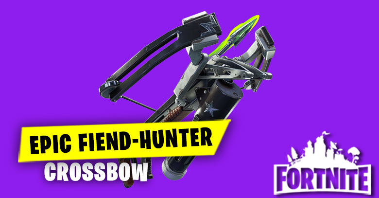 Fiend Hunter Crossbow Epic | Fortnite - zilliongamer