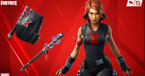 Black Widow Outfit | Fortnite - zilliongamer