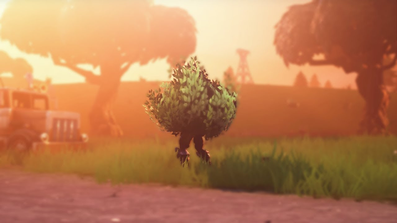 Bush Man | Fortnite - zilliongamer your game guide