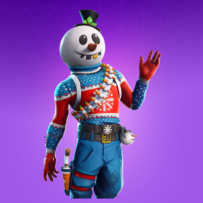 Slushy Soldier Skin | Fortnite - zilliongamer