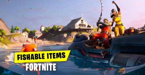 Fishable Items Fortnite