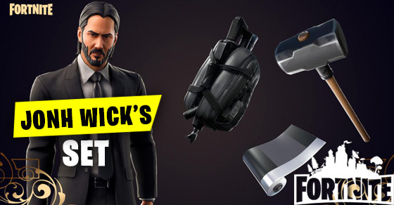 John Wick Set | Fortnite - zilliongamer