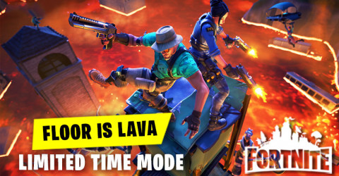 New Limited Time Mode - Floor is Lava
