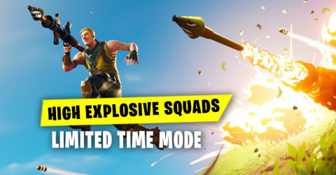 High Explosive Squads LTM | Fortnite