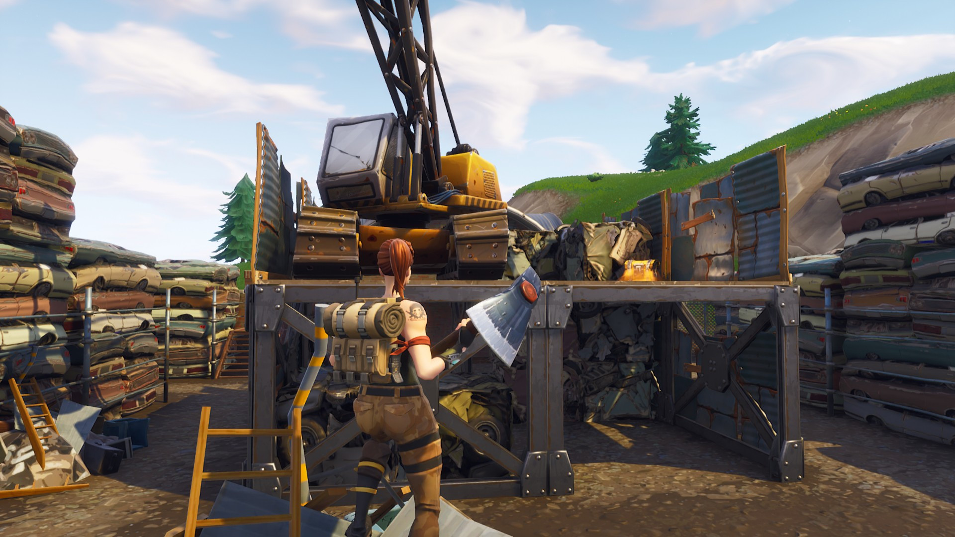 Third Chest Location in Junky Junction | Fortnite - zilliongamer your game guide